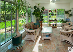 A cozy sunroom design in Northampton